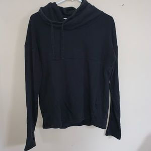 Black turtle neck sweatshirt